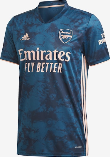 ADIDAS PERFORMANCE Trikot 'FC Arsenal' in blau / dunkelblau / puder, Produktansicht