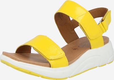CAPRICE Sandale in gelb, Produktansicht
