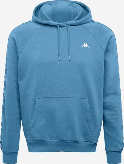 KAPPA Sweatshirt 'GABRIOS' in de kleur Hemelsblauw / Wit, Productweergave
