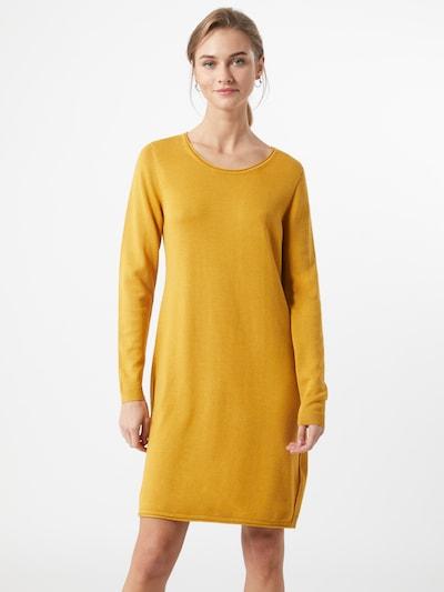 EDC BY ESPRIT Pletené šaty - zlatá žltá, Model/-ka