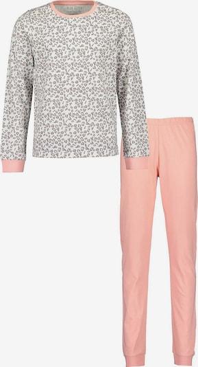 BLUE SEVEN Pajamas in Grey / Salmon / White, Item view