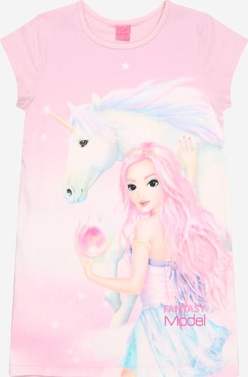 TOP MODEL T-Shirt en rose, Vue avec produit
