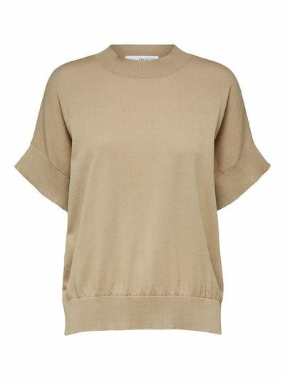 SELECTED FEMME Bluse in beige, Produktansicht
