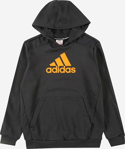 ADIDAS PERFORMANCE Athletic Sweatshirt in Orange / Black, Item view