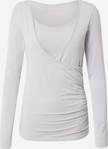 CURARE Yogawear Funktsionaalne särk 'Flow', värv hall