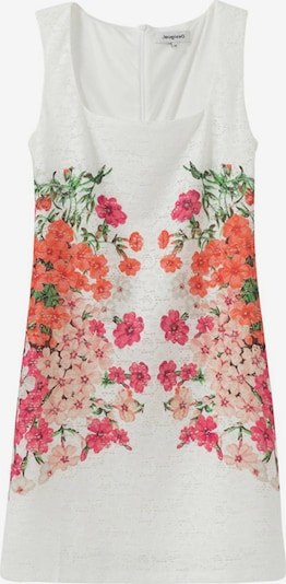 Desigual Robe d'été 'SANDRA' en mélange de couleurs / blanc, Vue avec produit