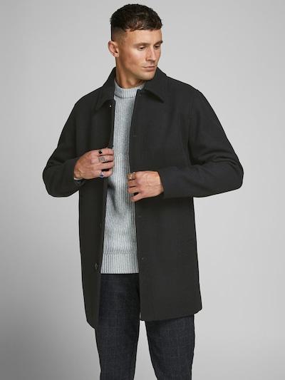JACK & JONES Mantel in schwarz: Frontalansicht