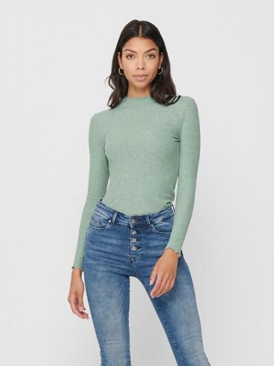 ONLY Shirt 'Emma' in pastellgrün: Frontalansicht