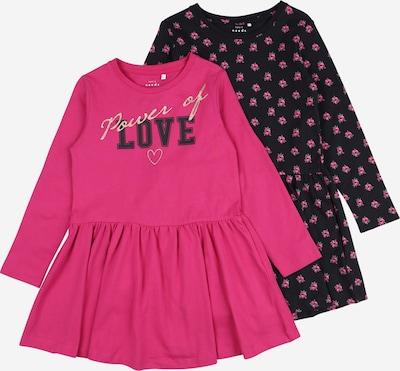 NAME IT Kleid in dunkelblau / pink, Produktansicht