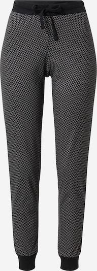 ESPRIT Pyjamahose in graumeliert / schwarz, Produktansicht