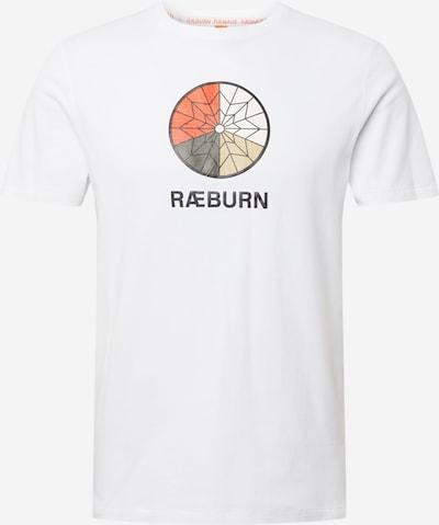 RÆBURN Majica 'PARACHUTE' u miks boja / bijela, Pregled proizvoda