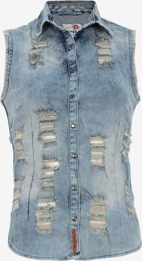 CIPO & BAXX Jeansweste in hellblau, Produktansicht