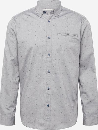 ESPRIT Hemd 'Oxford' in grau / dunkelgrau, Produktansicht