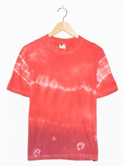Identic Tie Dye Shirt in L-XL in rot, Produktansicht