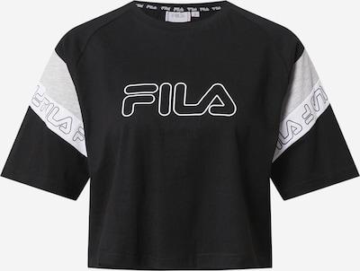FILA Tričko 'Lolle' - šedý melír / černá / bílá, Produkt