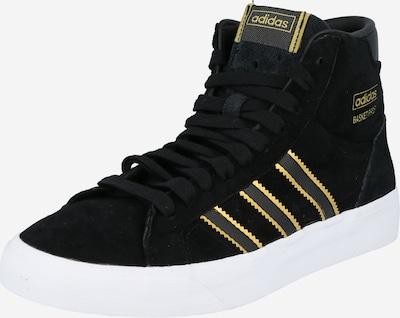 ADIDAS ORIGINALS Sneaker 'BASKET PROFI' in gold / schwarz, Produktansicht