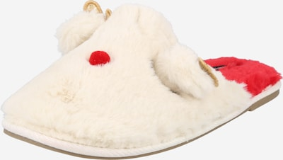 VERO MODA Papuče 'THEA' - krémová / zlatá / ohnivo červená / čierna, Produkt
