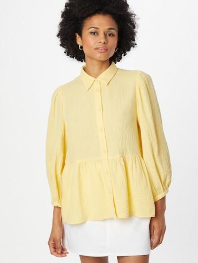 mbym Bluse 'Adora' in gelb, Modelansicht