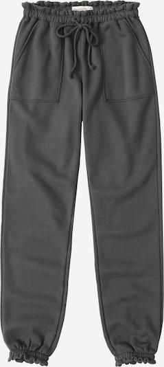 Abercrombie & Fitch Pantalon 'Webex Ruffle' en gris, Vue avec produit