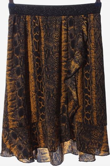 SAINT TROPEZ Skirt in M in Brown / Light orange / Black, Item view