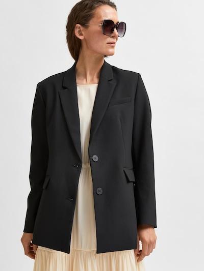 SELECTED FEMME Blazer 'Rita' in schwarz, Produktansicht