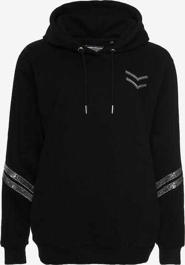 Superdry Sweatshirt 'Tiger Nights Sparkle' in de kleur Goud / Zwart / Zilver, Productweergave