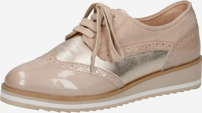 CAPRICE Lace-up shoe in Beige, Item view