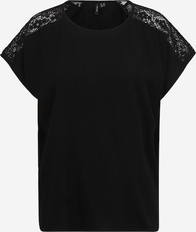 Vero Moda Tall Тениска 'NANCY' в черно: Изглед отпред