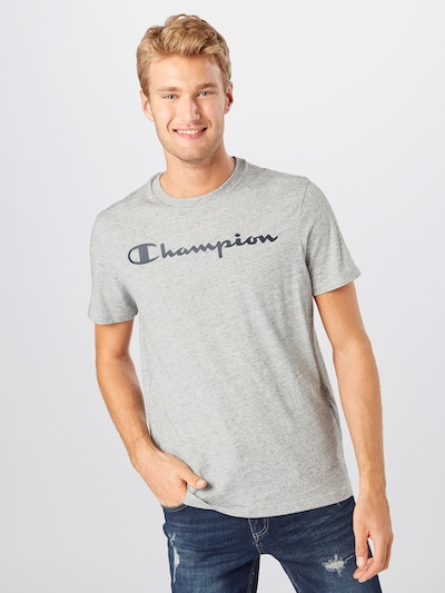 Champion Authentic Athletic Apparel Majica u siva: Prednji pogled
