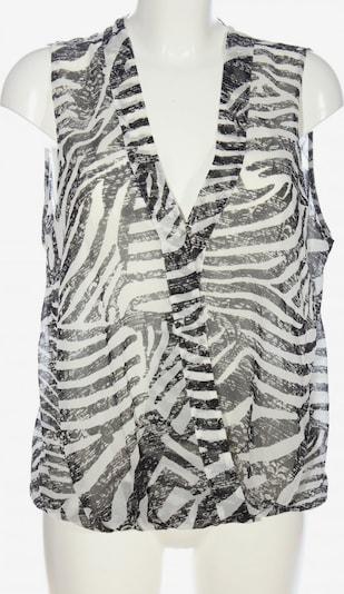 H&M Schlupf-Bluse in XXXL in schwarz / weiß, Produktansicht