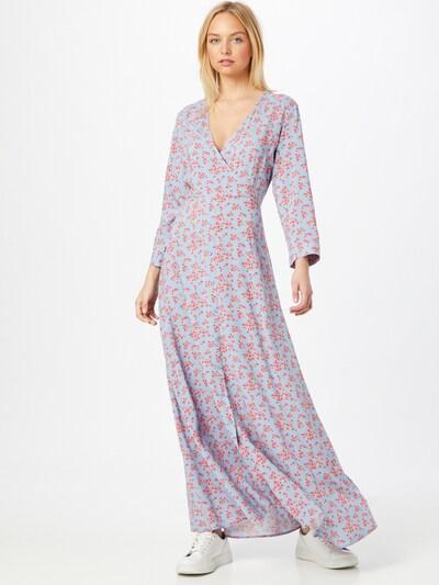Y.A.S Robe 'SAVANNA' en crème / bleu clair / rose, Vue avec modèle