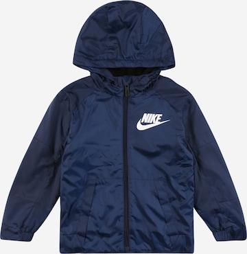 Nike Sportswear Övergångsjacka i blå
