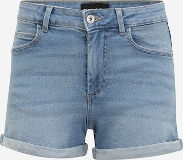 Pieces Petite Jeans 'PACY' in Blauw