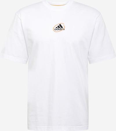 ADIDAS PERFORMANCE Functioneel shirt 'Scribble' in de kleur Sinaasappel / Zwart / Offwhite, Productweergave