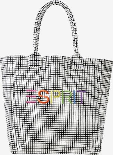 ESPRIT Shopper in mischfarben / weiß, Produktansicht