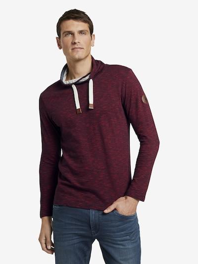 TOM TAILOR Shirt in de kleur Bordeaux: Vooraanzicht