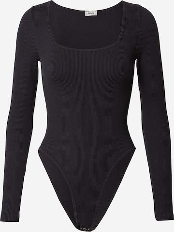 Tricou body 'TVCARRE' de la Pimkie pe negru
