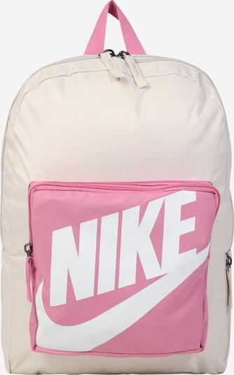 Nike Sportswear Sac à dos en beige / bleu pastel / rose / blanc, Vue avec produit