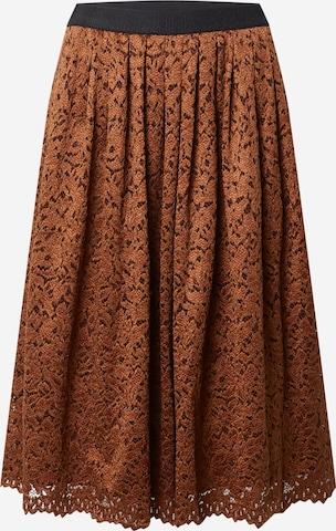 MORE & MORE Skirt in Brown