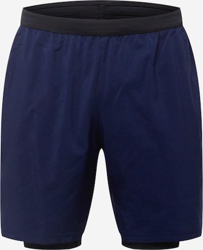 Reebok Sport Sportbroek in de kleur Donkerblauw / Zwart, Productweergave