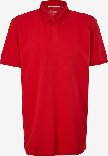 s.Oliver Red Label Big&Tall Poloshirt in rot, Produktansicht