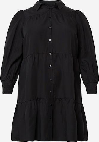 Robe-chemise 'Monica' Forever New Curve en noir