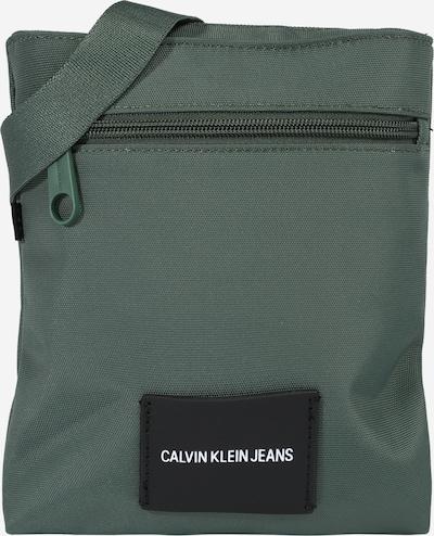 Calvin Klein Jeans Õlakott smaragdroheline / must, Tootevaade