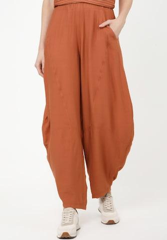Madam-T Haremhose 'Erin' in Orange