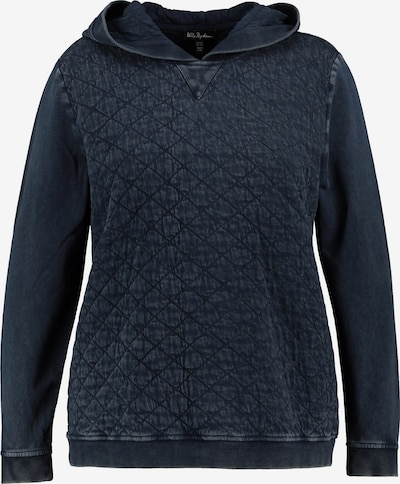 Ulla Popken Sweatshirt in dunkelblau, Produktansicht
