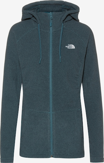THE NORTH FACE Fleecejacke 'Mezzaluna' in petrol, Produktansicht