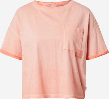 Q/S by s.Oliver Oversized shirt in Roze
