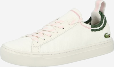 LACOSTE Nízke tenisky - zelená / ružová / biela, Produkt