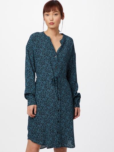 mbym Kleid 'Kailan' in blau / schwarz, Modelansicht