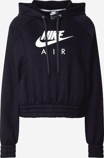 Nike Sportswear Sweatshirt i sort / hvid, Produktvisning
